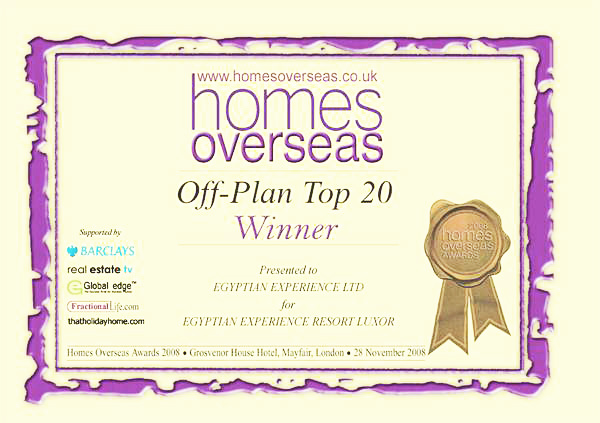 Homes Overseas award
