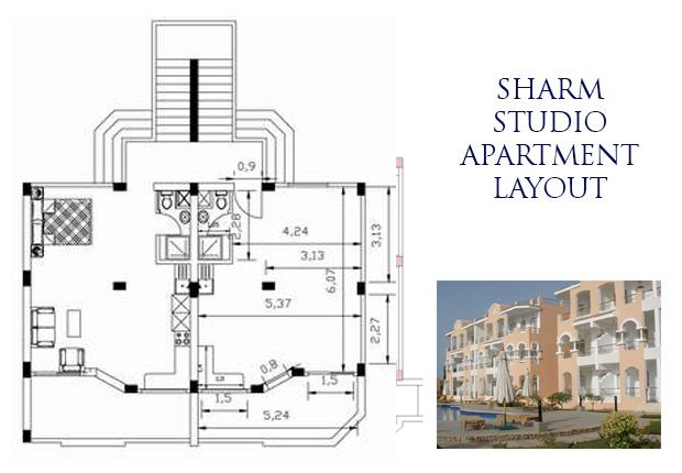 Sharm studio layout
